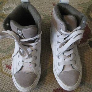 Girl SNEAKER CONVERSE REAL WHITELEATHER HIGHTOPS 3